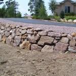 Menzer Granite Driveway Wall