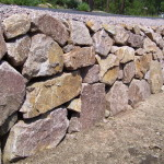 Menzer Granite Retaining Wall