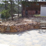 building a retaining wall