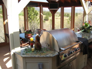 Outdoor Kitchen-barbecues