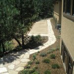 siloam flagstone pathway landscaping