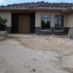 Rocky Mtn. entry-before landscaping