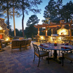 outdoor colorado springs lighting
