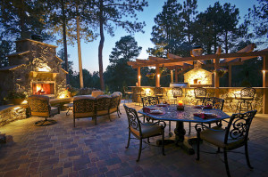 Outdoor lighting can be an excellent way to create an ambience and set a mood