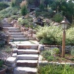 stone landscaping siloam steps