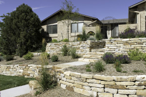Siloam Stone Retaining Wall Colorado Springs