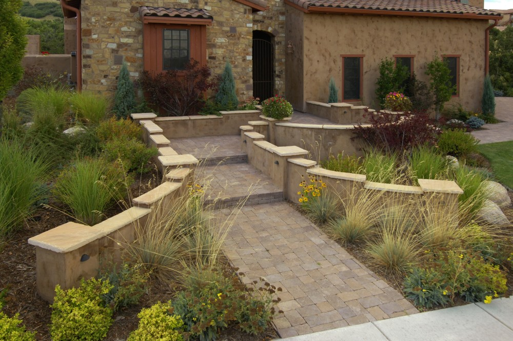 Patio Stone Seating Wall Outdoor Fire Pit Seating