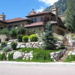 Terraced Plantings Landscaping Materials Colorado Springs