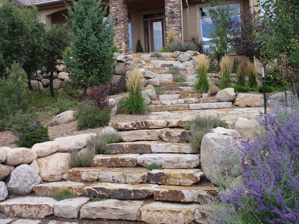 landscape design steps