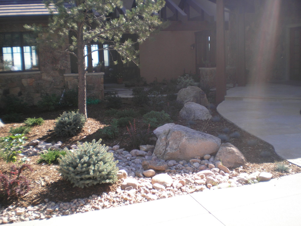 landscaping rock colorado springs landscape boulders