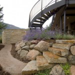Stone steps and path
