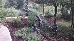 Children Playing Sculpture