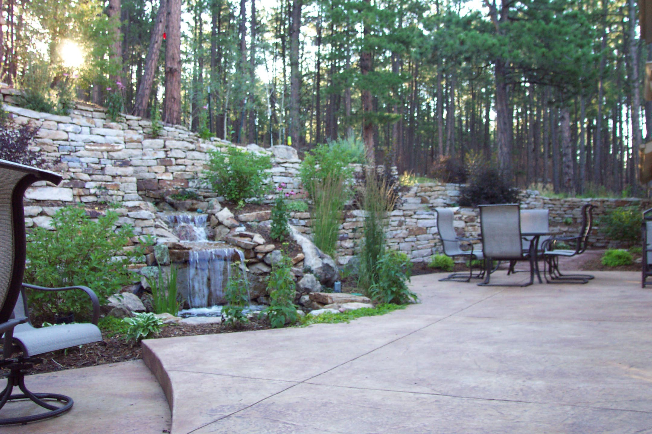Siloam Stone Wall | Water Feature