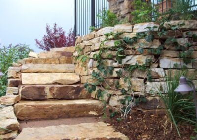 Siloam Stone Steps | Curved Steps