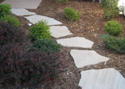 Flagstone Stepping Path