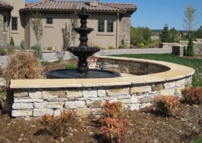 Water Feature | Fountain | Seating Wall