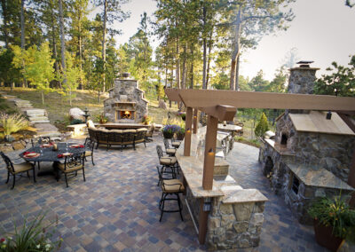 Pergola | Fireplace | Kitchen | Pavers