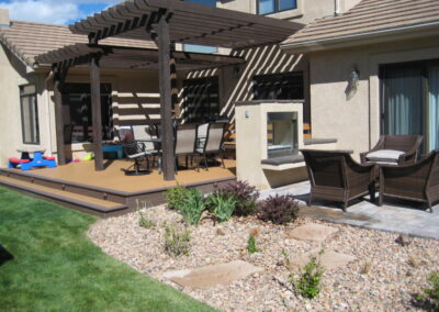 Deck | Pergola | Fireplace