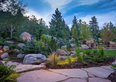 Flagstone | Boulders | Lighting