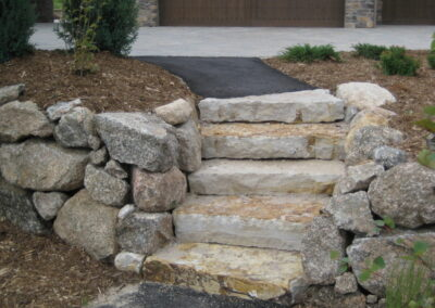 Pathway | Steps | Mulch | Asphalt