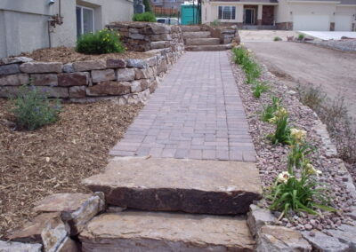 Siloam Stone Steps | Pavers | Path | Siloam Stone Wall