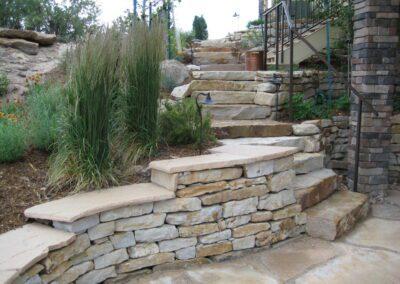 Siloam Steps | Boulder Wall