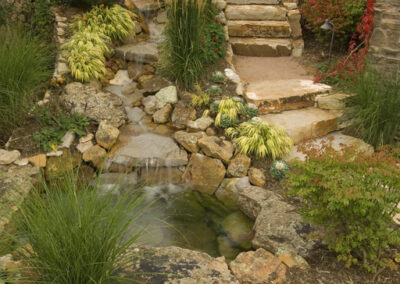 Siloam Stone Steps | Soil Concrete | Stream | Water Feature