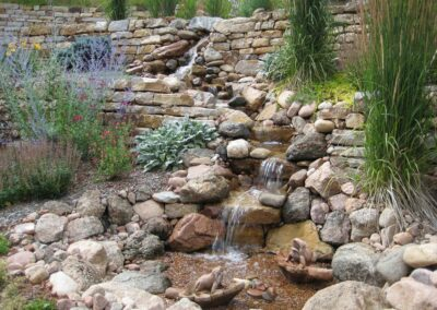 Terraced Water Feature