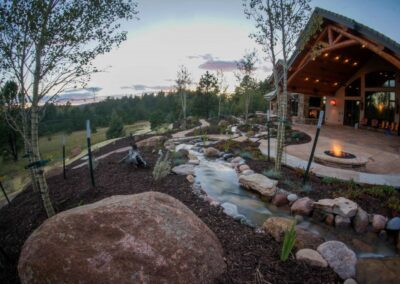 Fire Pit | Water Feature | Patio