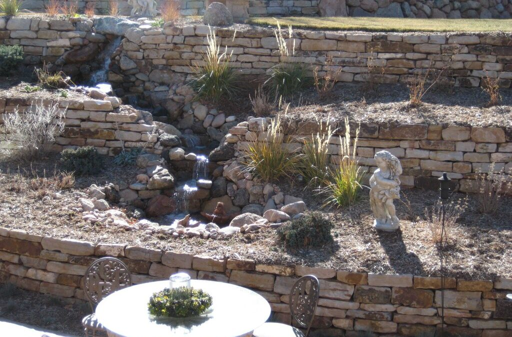 Water Feature | Siloam Retaining Wall | Terrace